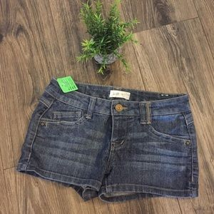 Jolt Denim Shorts Size 1